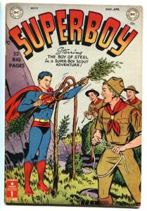SUPERBOY #13 1951-DC-Boy Scouts of America issue Golden-Age FN-