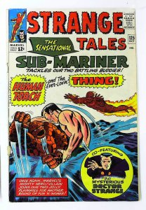 Strange Tales (1951 series) #125, VG (Actual scan)
