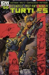 Teenage Mutant Ninja Turtles (5th Series) #50A VF/NM; IDW   save on shipping - d