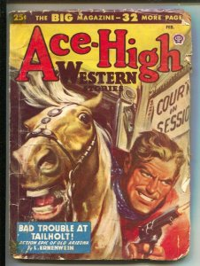 Ace-High Western-2/1948-Popular-pulp stories-gunfight coverTom Roan-Harold F ...