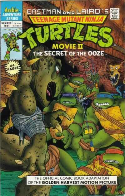 Teenage Mutant Ninja Turtles Adventures (1989 series) Movie