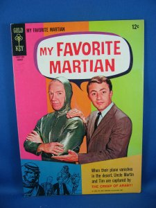 MY FAVORITE MARTIAN 5 VF 1965 Photo Cover
