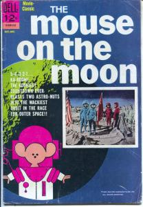 Mouse on The Moon #12-503-312 1963-Dell-movie classic-Terry-Thomas-VG