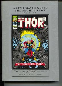 Marvel MasterworksThe Mighty Thor-Vol 5-#131-140-Color Reprints-Hardcover