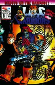 A.B.C. Warriors #5 FN; Fleetway Quality | save on shipping - details inside