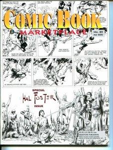 Comic Book Marketplace #89 2002Hal Foster-Prince Valiant-Frank Cho-VF