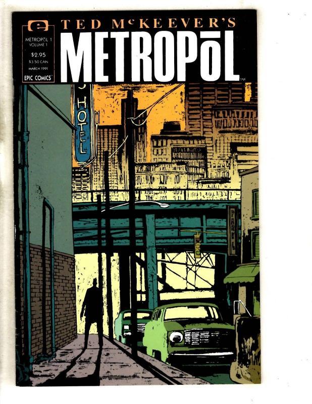 11 Metropol Marvel Epic Comic Books # 1 2 3 4 5 6 7 8 9 10 11 Ted