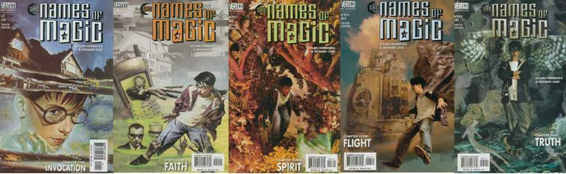 NAMES OF MAGIC (2001 VERTIGO) 1-5  COMPLETE!