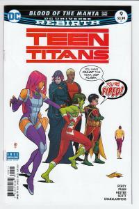 TEEN TITANS (2016 DC) #9