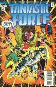 Fantastic Force (1994 series) #6, VF+ (Stock photo)