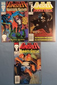 Punisher Summer Special Lot #1 #2 #3 Marvel Comics 1993
