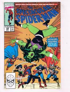The Spectacular Spider-Man #168 NM Marvel Comics Comic Book Sept 1990 DE45