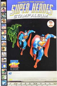Super Heroes Stamp Album #10 VF; DC | save on shipping - details inside