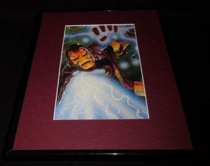 Iron Man Marvel Masterpiece ORIGINAL 1994 Framed 11x14 Poster Display