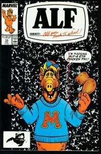 ALF #10-MARVEL COMICS-NBC-TV-MELMAC-1988 NM