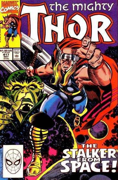 Thor (1966 series) #417, VF+ (Stock photo)