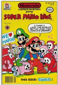 NINTENDO COMICS SYSTEM (1991VL)  8 VF-NM Mario Bros