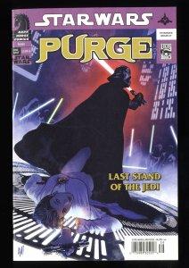 Star Wars: Purge #nn VF 8.0 Adam Hughes Cover!