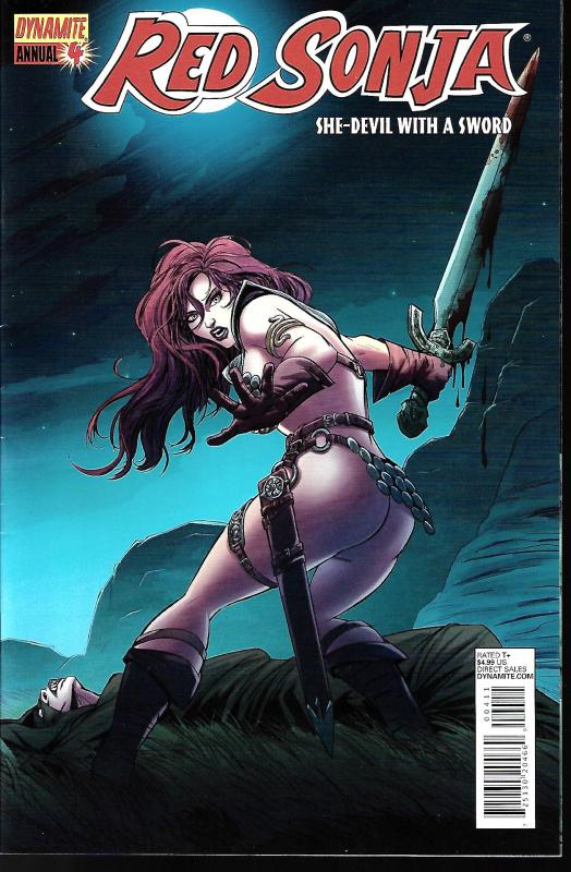 Red Sonja #4 Annual (Dynamite Entertainment)
