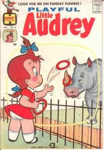 PLAYFUL LITTLE AUDREY (1957-1976) 19 VF July 1960 COMICS BOOK