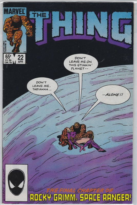 The Thing #22 (1985)