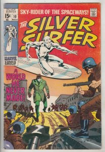 Silver Surfer #10 (Nov-69) FN/VF Mid-High-Grade Silver Surfer