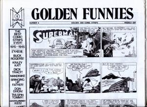 Golden Funnies #6 1973-newspaper comics reprints-Mandrake-Superman-Krazy Kat-NM