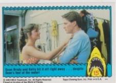1983 Topps JAWS 3-D THE SHARK WALKERS #15