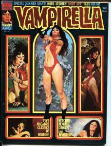 Vampirella #45 1975-Warren-bloody monster cover terror & mystery stories-VF-