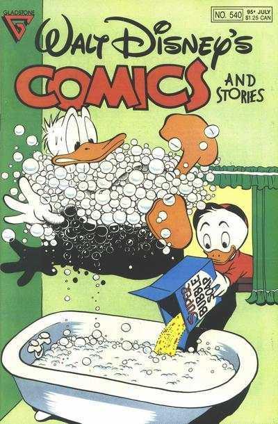 Walt Disney's Comics and Stories #540, VF+ (Stock photo)