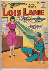 Lois Lane, Superman's Girlfriend  #16 (Aug-60) FN+ Mid-High-Grade Superman, L...