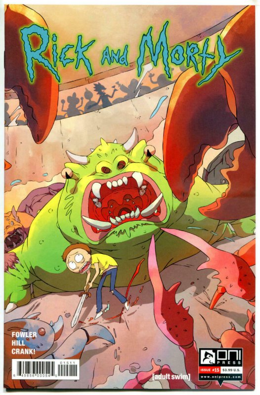 RICK and MORTY #15, 1st, NM, Grandpa, Oni Press, from Cartoon 2015,more in store