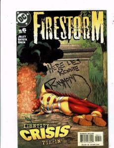 Lot of 5 Firestorm DC Comic Books #6 7 8 9 10 BH45