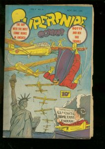 SUPERSNIPE-V.2 #12 1945-STREET & SMITH-STATUE O LIBERTY G-