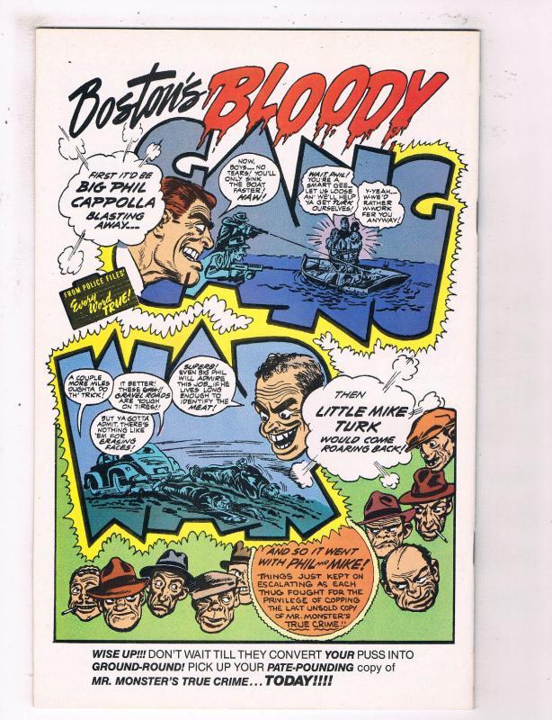 Mr Monsters True Crime Comics #2 VF Eclipse Comics Comic Book DE25