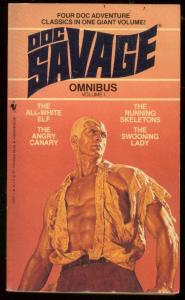 DOC SAVAGE OMNIBUS #1-PULP REPRINT PAPERBACK-4 STORIES! VF