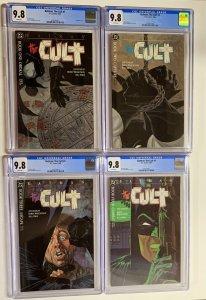 batman Cult 1 2 3 4 1-4 cgc 9.8 Jim Starlin Berni wrightson