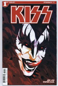 KISS Vol 3 #1 2016 Dynamite Comics Goni Montes Demon Cover
