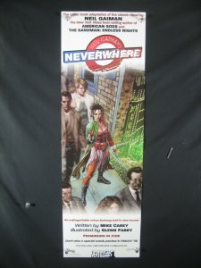 Neverwhere DC Comics Promo Poster 2005 34x11