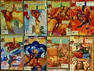 IRON MAN VOLUME 3 (1998)#1,2,4,5,6,7,8,9 ALL NM CONDITION 8 BOOK LOT