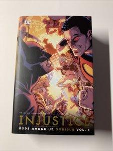 Injustice Gods Amoung Us Omnibus V Vol Volume 1 Near Mint Dc Hc Tpb
