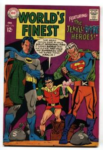 WORLD'S FINEST #173 First appearance Silver-Age TWO-FACE 1968