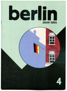 BERLIN #4, NM, Jason Lutes, Black Eye, 1996, more indies in store