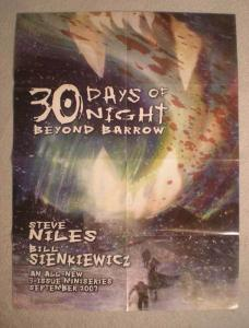 30 DAYS OF NIGHT BEYOND BARROW Promo Poster, 2007, Vampires, Unused