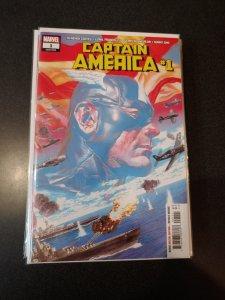 Captain America #1 Alex Ross Main Wraparound Cover Ta-Nehisi Coates Marvel 2018