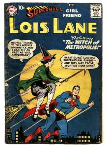 SUPERMAN'S GIRLFRIEND LOIS LANE #1-1958-FIRST ISSUE-DC-KEY comic book