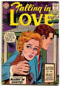 Falling in Love #61 1963- DC silver age romance comic VG-