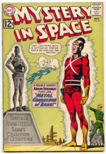 Mystery In Space #79 1962- ADAM STRANGE CARMINE INFANTINO  FN-