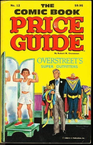 OVERSTREET COMIC BOOK PRICE GUIDE #12-1982-MAD MAGAZINE VF