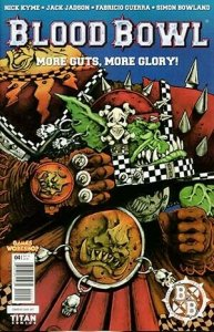 Blood Bowl: More Guts More Glory! #4B VF/NM; Titan | save on shipping - details